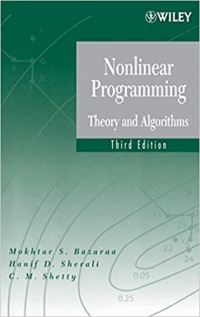 Nonlinear Programming: Theory and Algorithms 3rd Edition